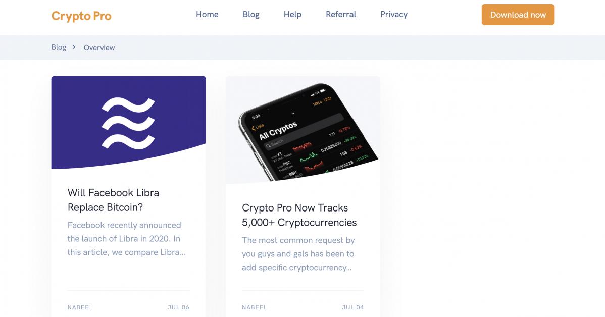 crypto pro website