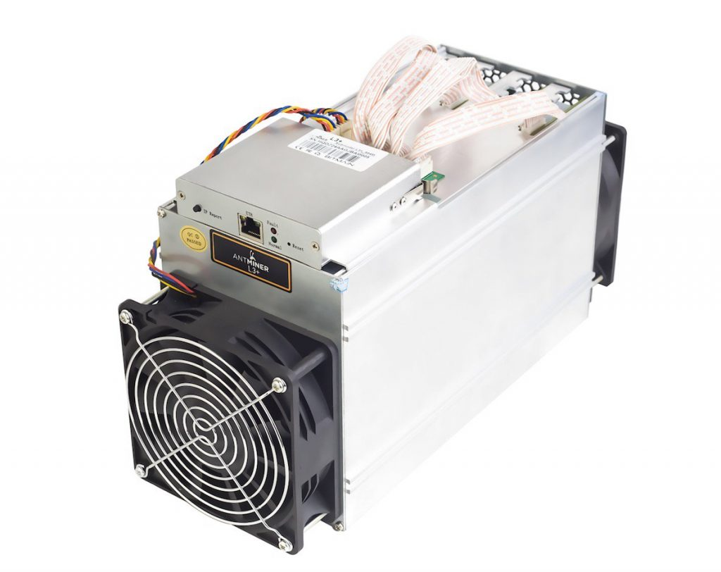 antminer cryptocurrency miner