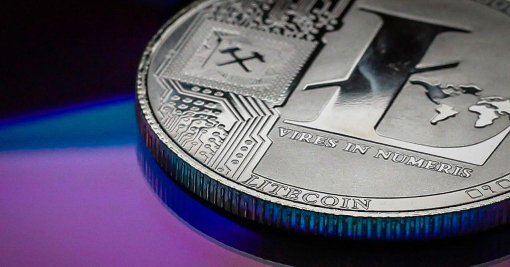 a picture of a coin resembling litcoin currency