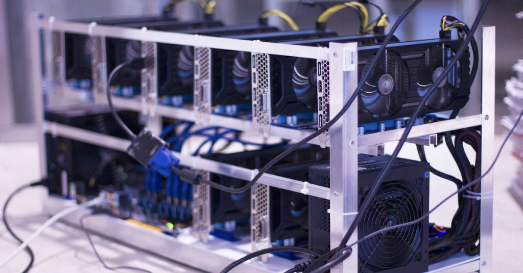 image of 10 gpu cryptocurrency miners