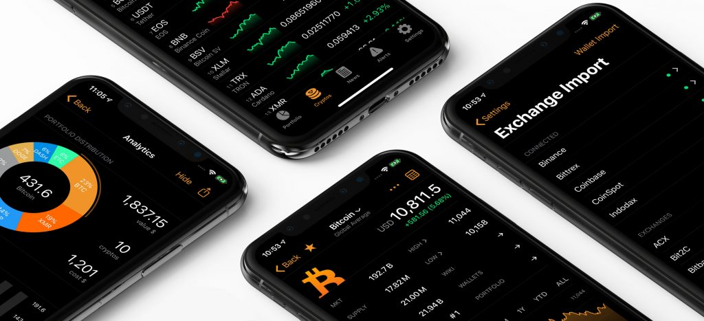 monitor cryptocurrency prices app