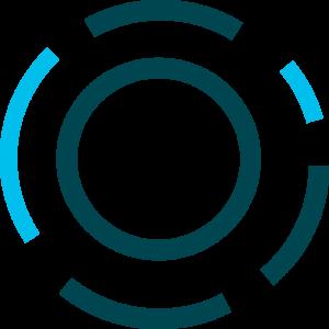 Aion logo in blue