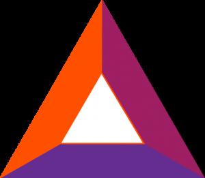 BAT logo in purple