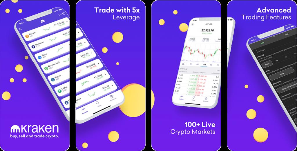 Kraken Crypto trading App