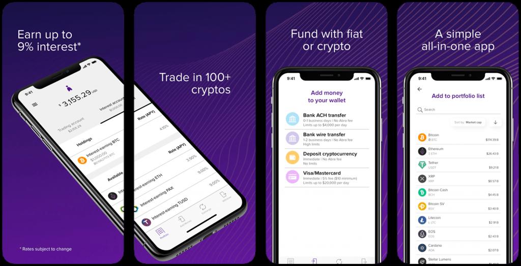 Abra BTC wallet for iOS
