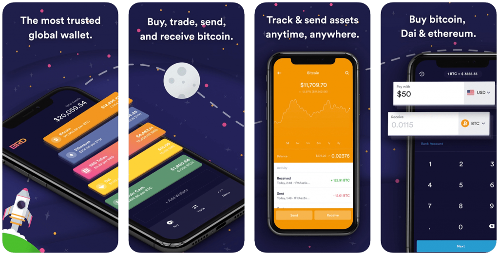 App Store image for BRD iPhone Bitcoin wallet