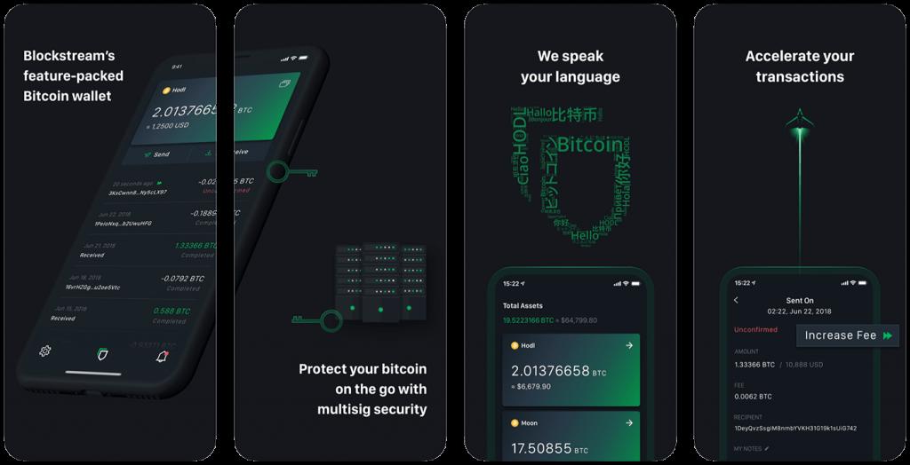 Bitcoin wallet for iOS GreenAddress